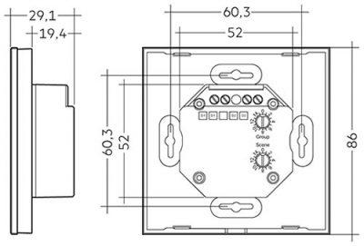 Magnificent Tridonic Dali Touchpanel Basic Tw Iz Aydinlatma Tridonic Turkiye Wiring Digital Resources Kookcompassionincorg
